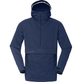Norrøna M's Svalbard Cotton Anorak Indigo Night